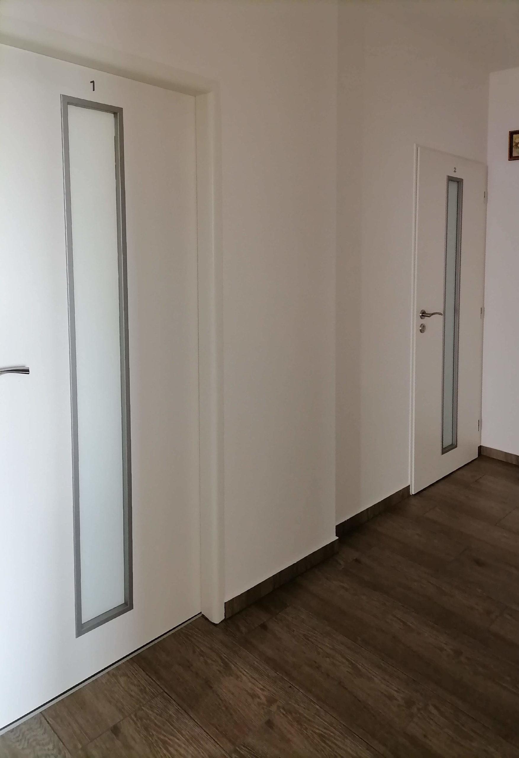 dveře kepák - reference  -bílé dveře