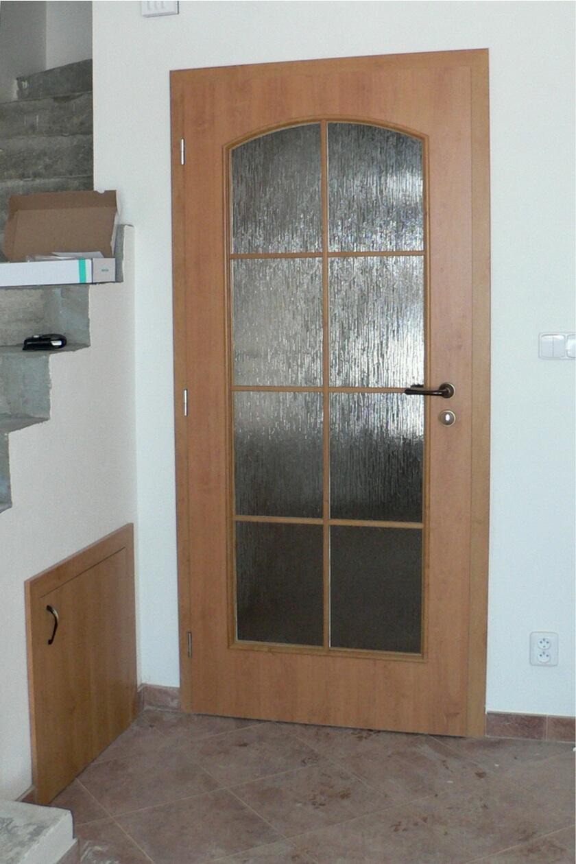 dveře kepák - reference  - hnědé dveře 7