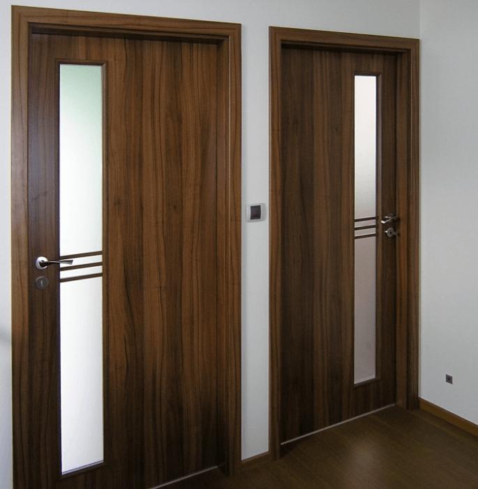 dveře kepák - reference - hnědé dveře 2